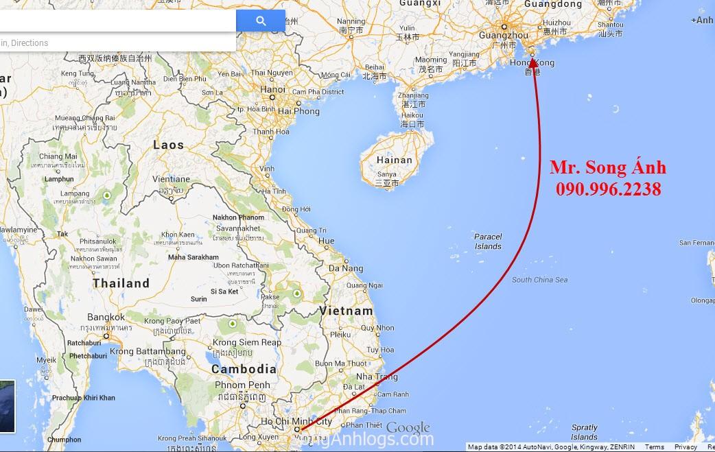 Cước vận chuyển đường biển Hongkong