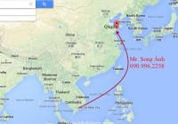 Cước vận chuyển đường biển HCM - Qingdao