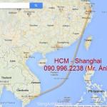 Vận chuyển container đường biển đi Shanghai