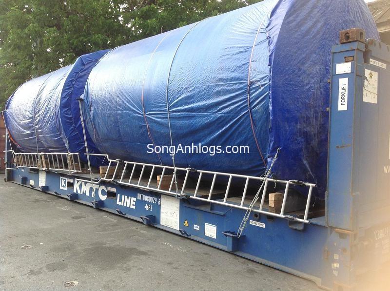bon nuoc steel tanks flat rack