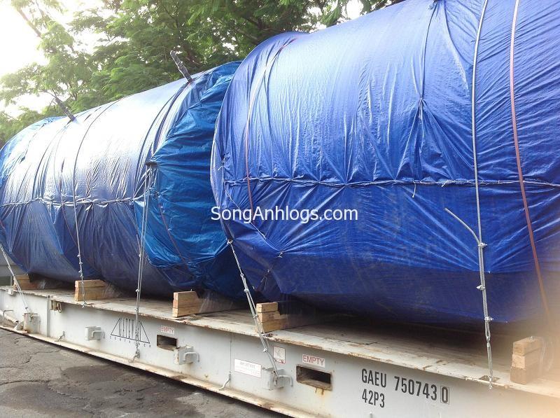 Ghép container flat rack đóng chung