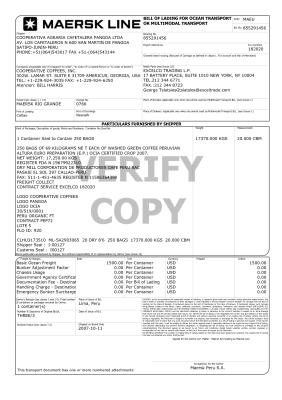 thông tin chi tiết bill
