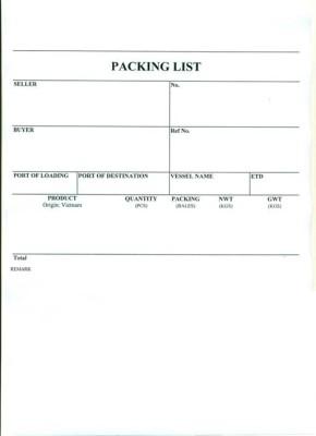 Packing List là gì trong lĩnh vực xuất nhập khẩu