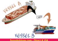 Phân biệt đi chuyển tải và Direct trong shipping