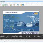 Hướng dẫn khai báo Hải quan điện tử qua phần mềm Ecus