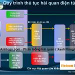 Quy trình hải quan điện tử và phân luồng hải quan Xanh, Vàng, Đỏ