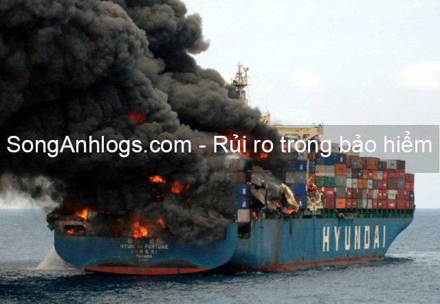 Rủi ro cháy tàu container