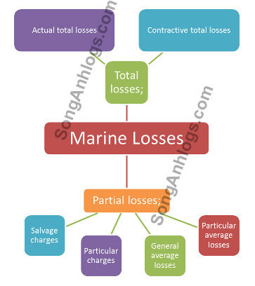 Tổn thất bộ phận (partial loss), Tổn thất toàn bộ (total loss)