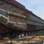 Bán xà lan mới tải trọng 128 TEU – Sà lan chở hàng đóng mới 100%