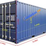 Kích Thước Container – 20 feet, 40′, 45′ Cao, Lạnh, Flat Rack, Open Top