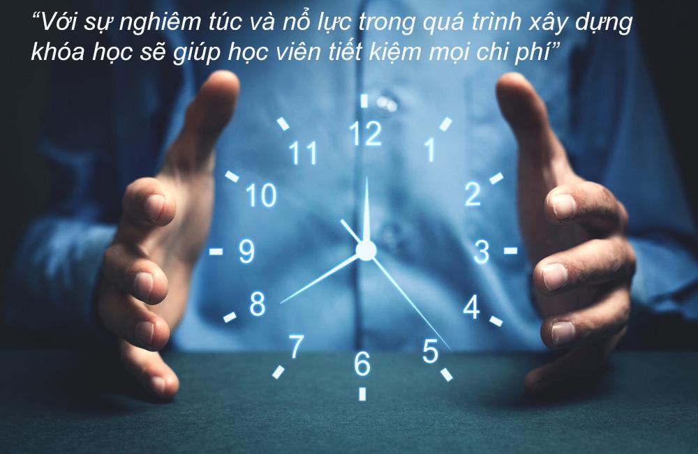 Tiết kiệm thời gian và chi phí học tập