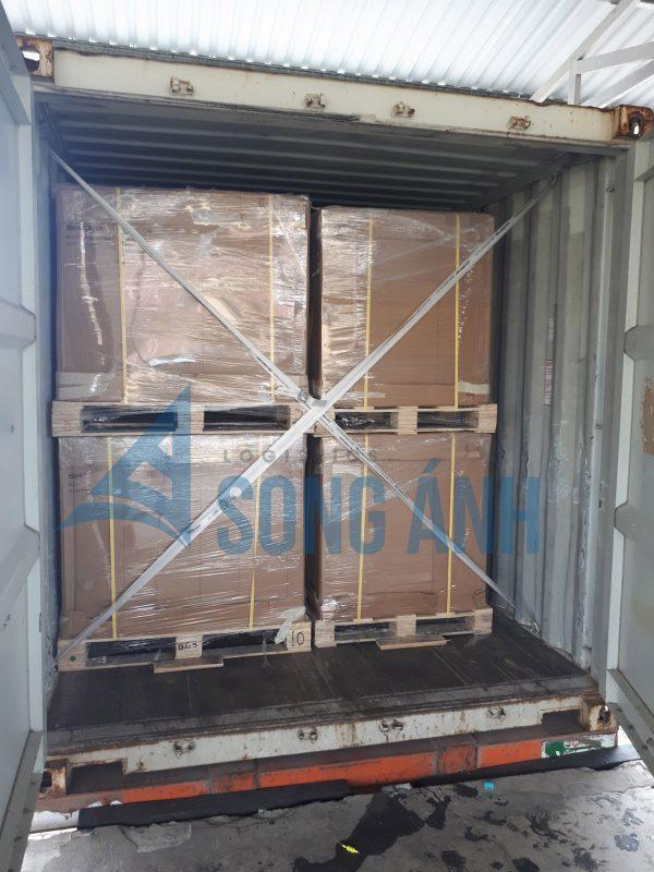 Kiểm tra đóng hàng vào container
